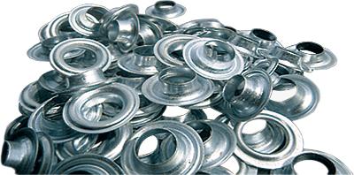 Люверсы / Колечки 10 мм, 1000 шт цена