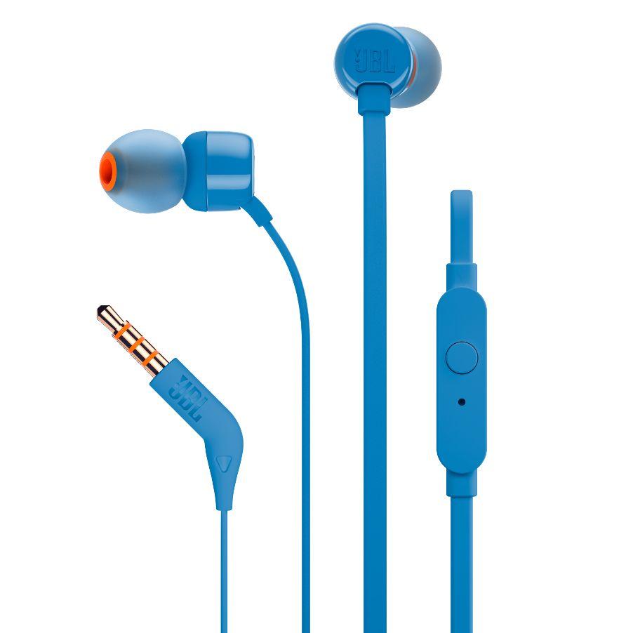 Фото - Наушники JBL Tune 110, синие наушники jbl t450bt blue