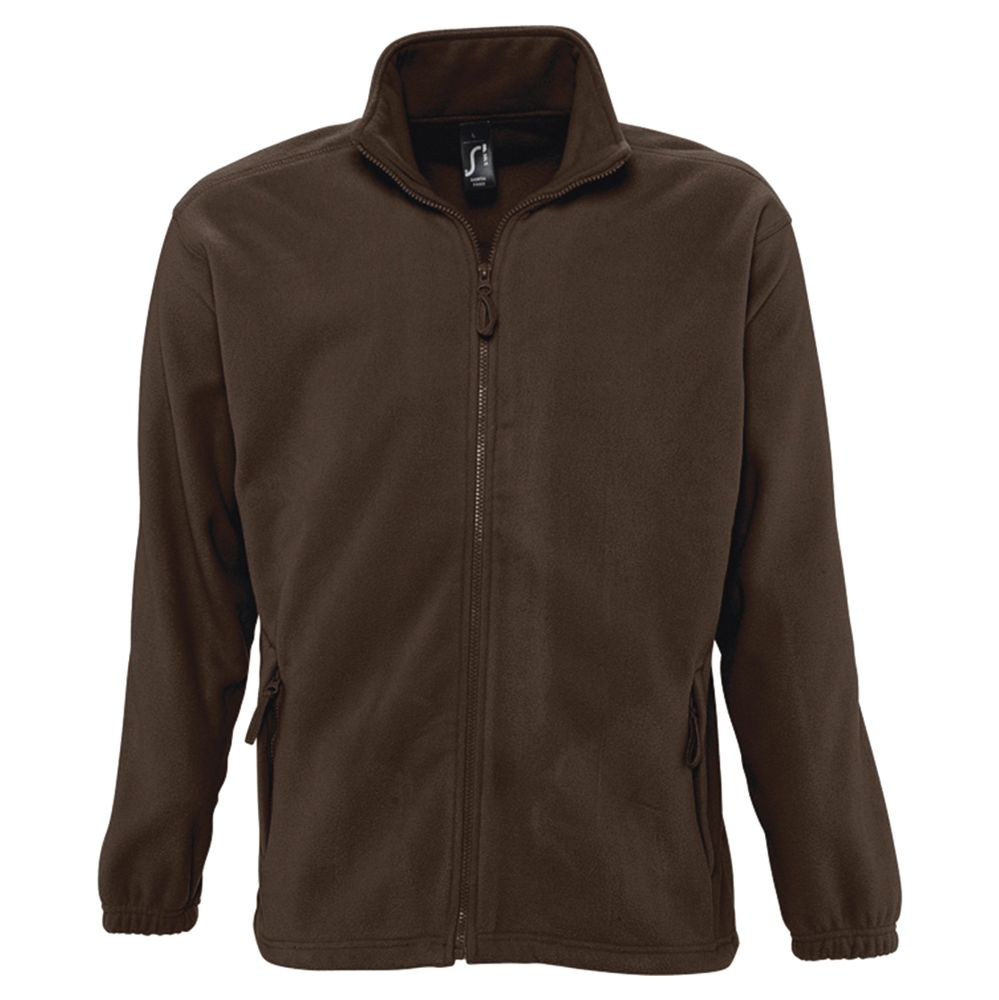 Куртка мужская North коричневая, размер 3XL