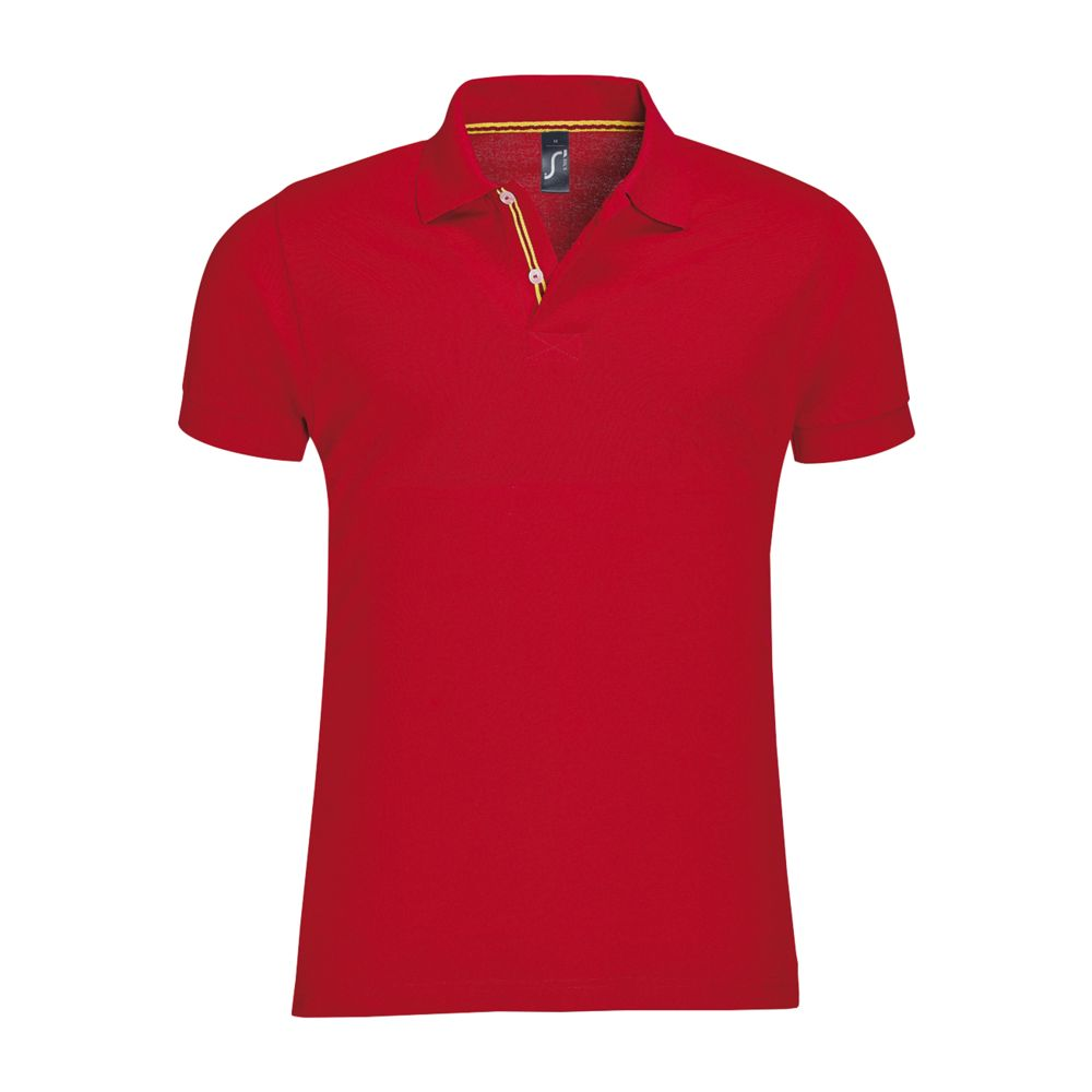 Рубашка поло мужская PATRIOT красная, размер 3XL цена 2017