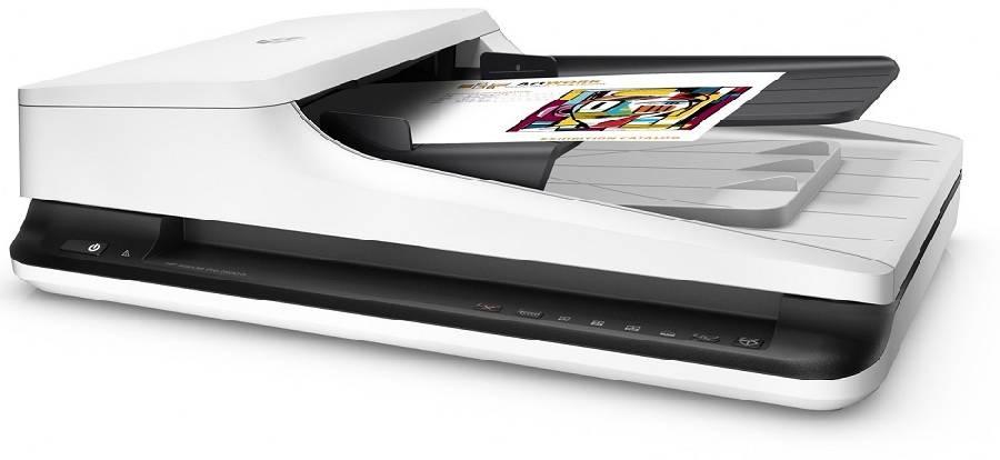 цены на HP ScanJet Pro 2500 f1 (L2747A)  в интернет-магазинах