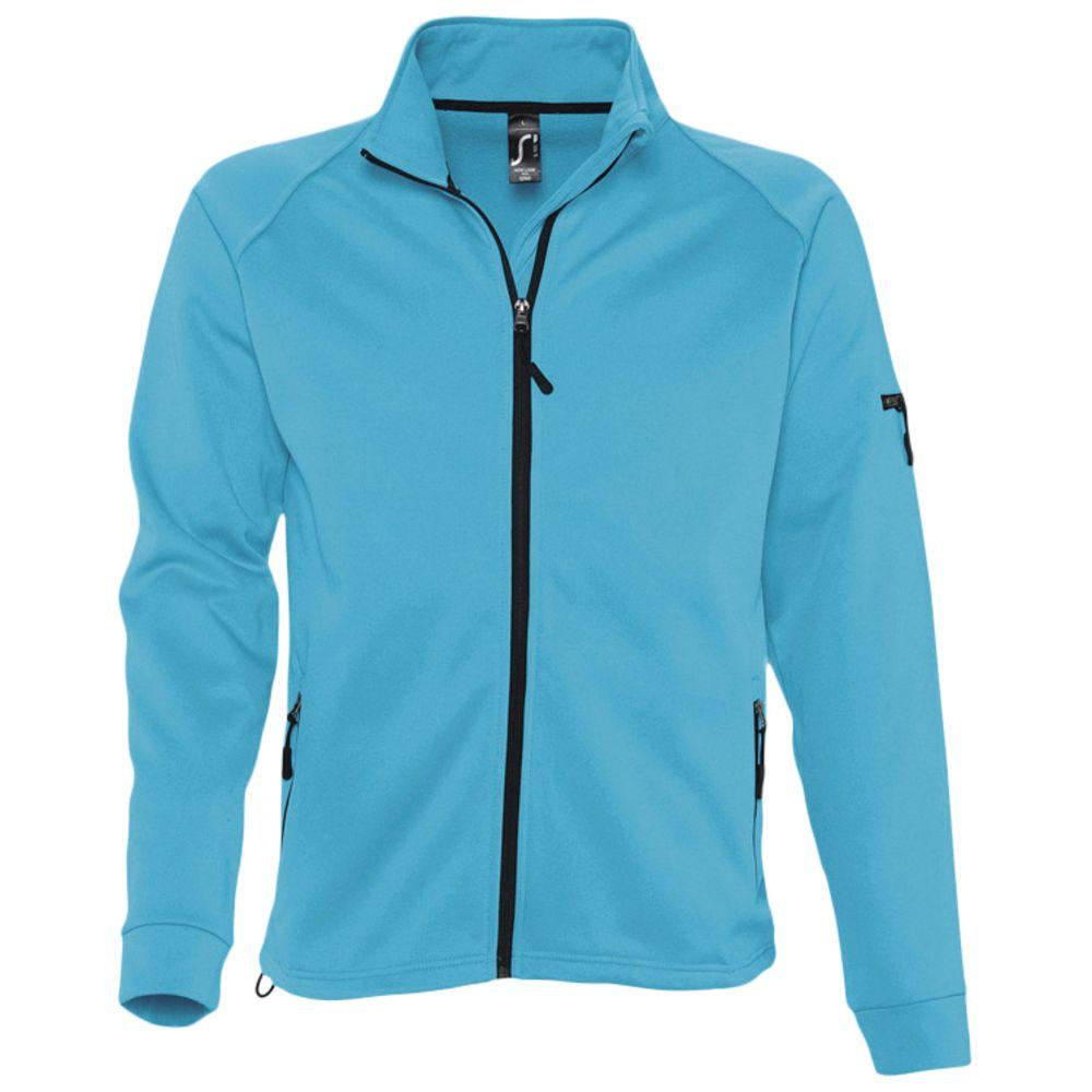Куртка флисовая мужская New look men 250 бирюзовая, размер XXL фото