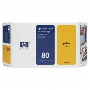 HP DesignJet 80 Yellow 175 мл (C4873A)