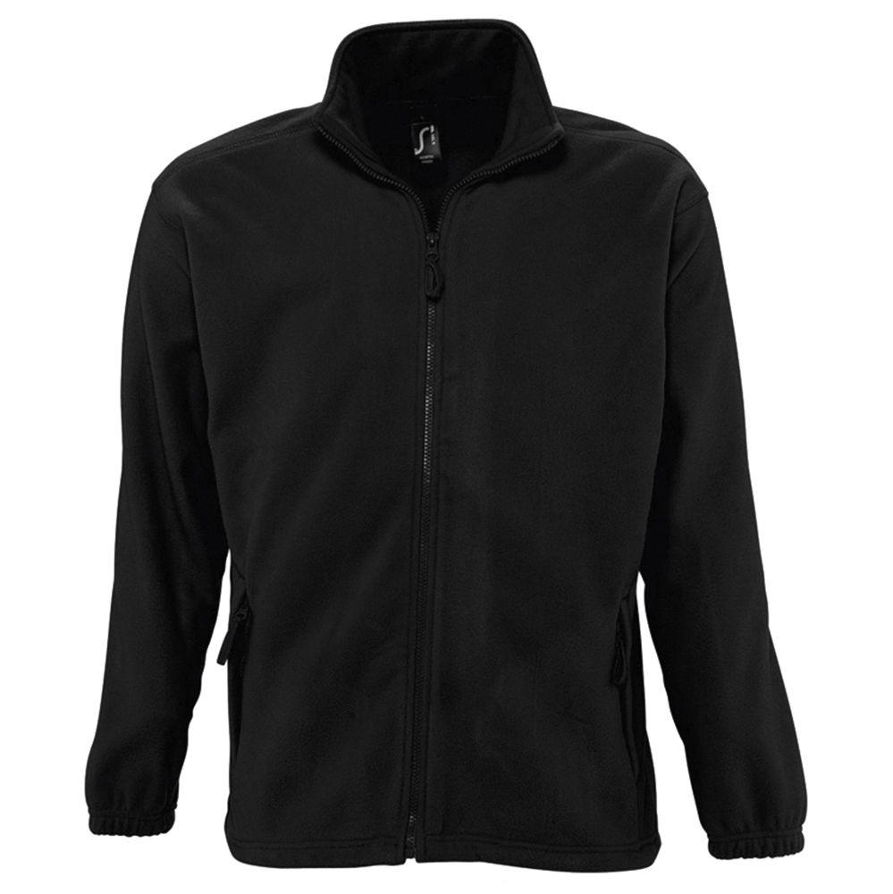 Куртка мужская North черная, размер S фото