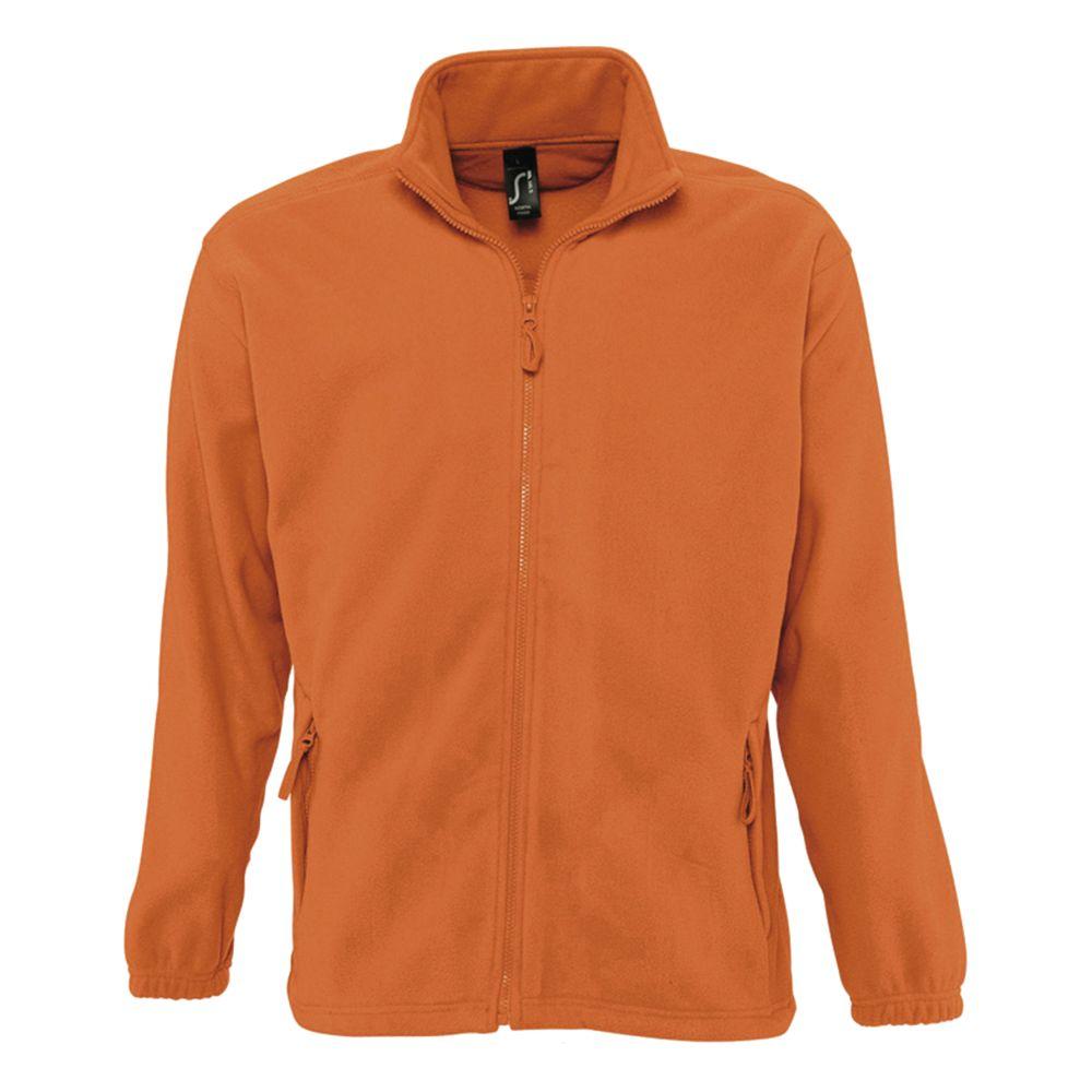 Куртка мужская North, оранжевая, размер XL