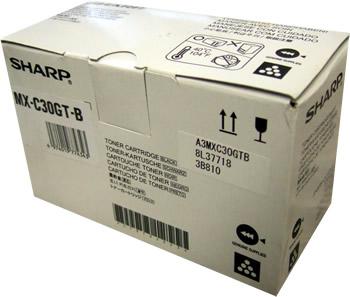 Тонер-картридж MX-C30GTB тонер картридж черный mx 31gtba