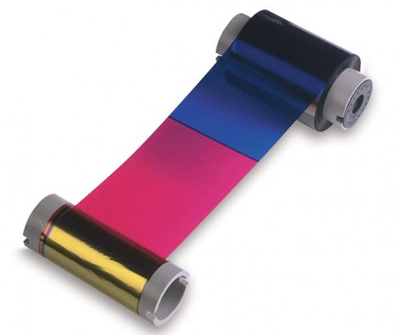 Фото - Лента с чистящим валиком полноцветная лента Fargo YMCKO 45200 картридж с лентой и чистящим валиком полноцветная лента ymcko 45100