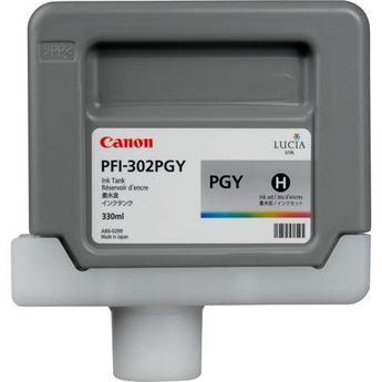 Canon PFI-302PGY Photo Gray 300 мл (2218B001) canon pfi 206pgy photo gray 300 мл 5313b001