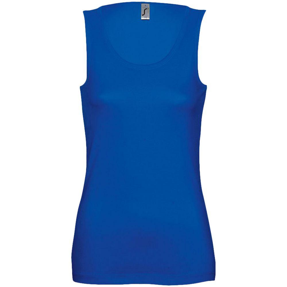 Майка женская JANE 150, ярко-синяя