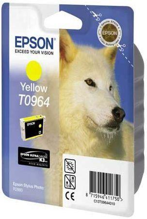 Фото - Картридж с желтыми чернилами Epson T0964 (C13T09644010) автомобильный ароматизатор tensy бутылочка с пробкой эксклюзив гламур can can burlesque paris hilton