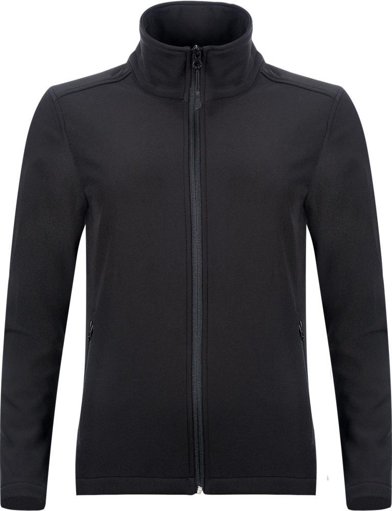 Куртка софтшелл женская RACE WOMEN черная, размер L недорого