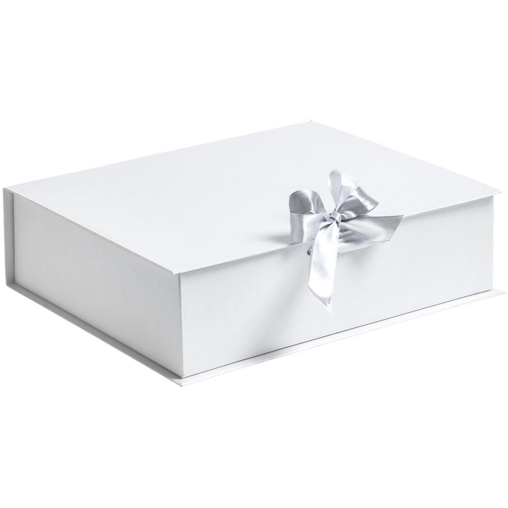 Коробка на лентах Tie Up, белая