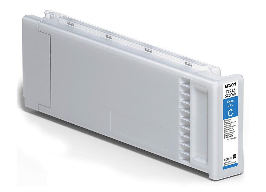 Epson T7252 Cyan 600 мл (C13T725200) цена 2017