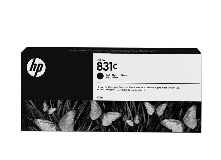 Фото - Картридж HP 831 Black 775 мл (CZ694A) lubby пустышка латексная утенок от 0 месяцев