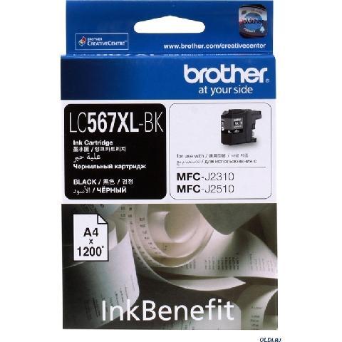 Фото - Картридж Brother LC-569XLBK оригинальный картридж повышенной ёмкости brother lc 3239xlc lc3239xlc