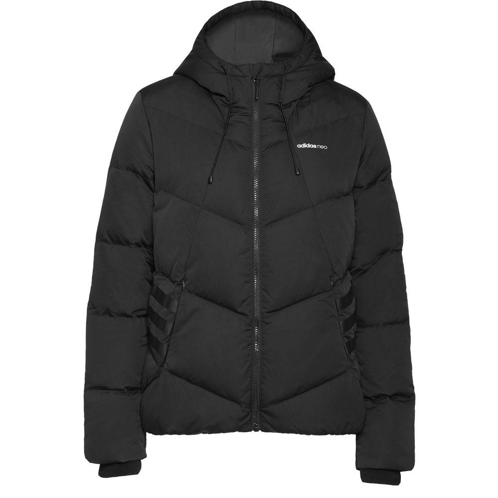 Куртка женская Puff, черная, размер L