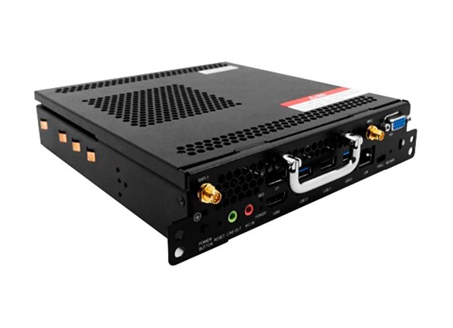 Фото - Встраиваемый компьютер OPS3P для панелей EDFLAT (Intel i5-8100/DDR4 8Гб/128Гб SSD/Smart Cache 9Мб/Intel HD Graphics 630) процессор intel g3220 cpu 3 0g 1150 h81 b85