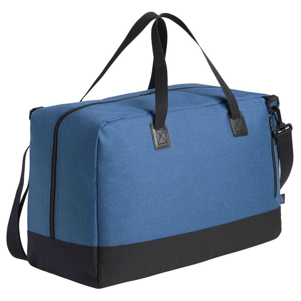Сумка дорожная с отделением для ноутбука Unit Bimo Weekend, синяя сумка для ноутбука unit bimo work зеленая