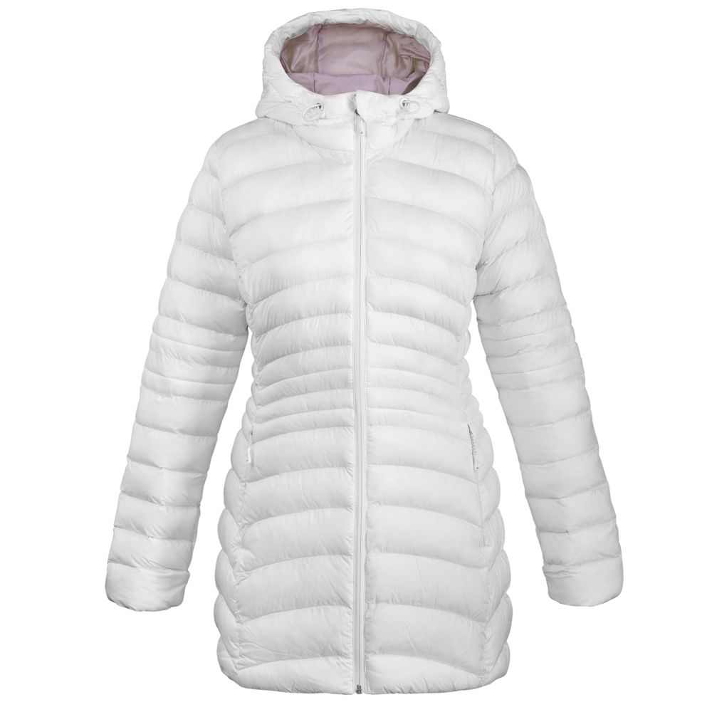 Куртка женская Outdoor Downlike, белая, размер XL