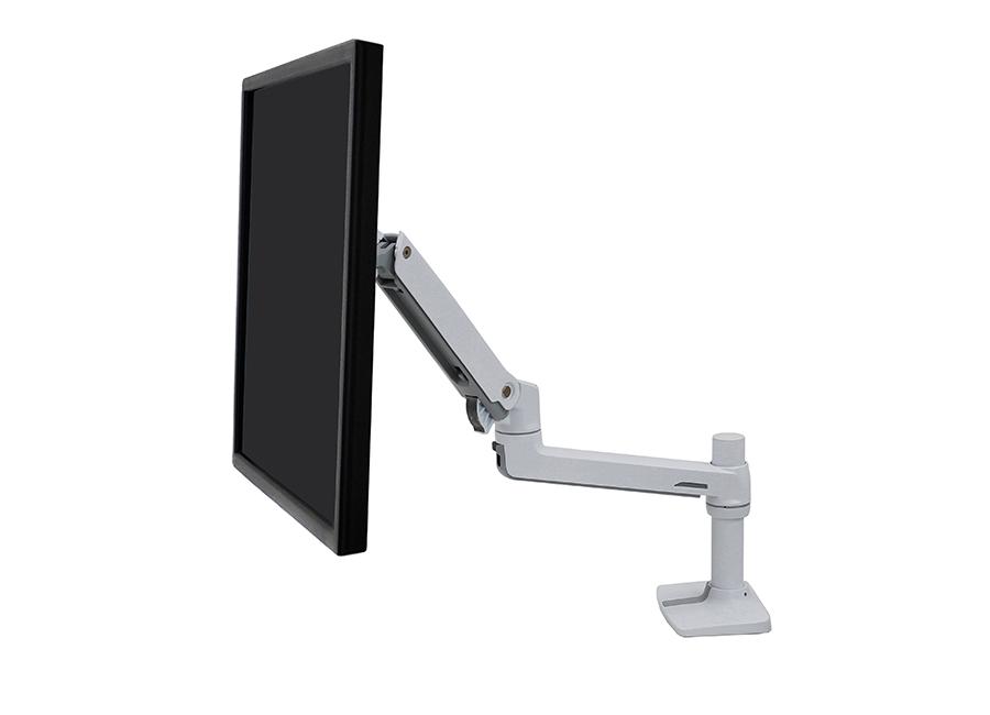 Настольное крепление для монитора LX Desk Mount LCD arm белое (45-490-216) михайлова и м вверх вниз влево вправо
