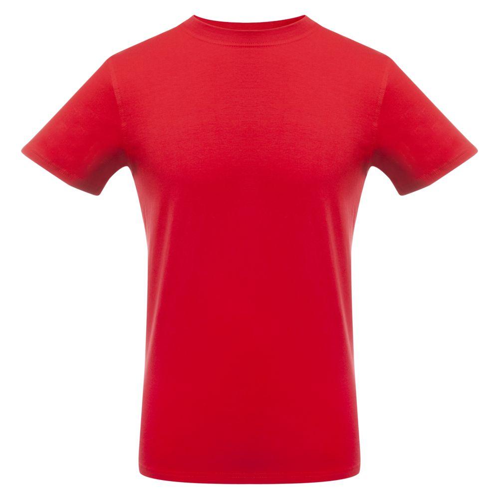 Футболка мужская T-bolka Stretch, красная, размер XXL