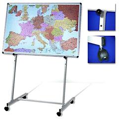 S03/140 Мобильная подставка для досок 200x100 см универсальная мобильная стойка ums 4 для интерактивных досок с крепежом для укф проекторов