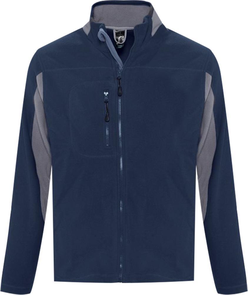 Куртка мужская NORDIC темно-синяя, размер M куртка мужская finn flare цвет темно зеленый w18 22011 размер m 48