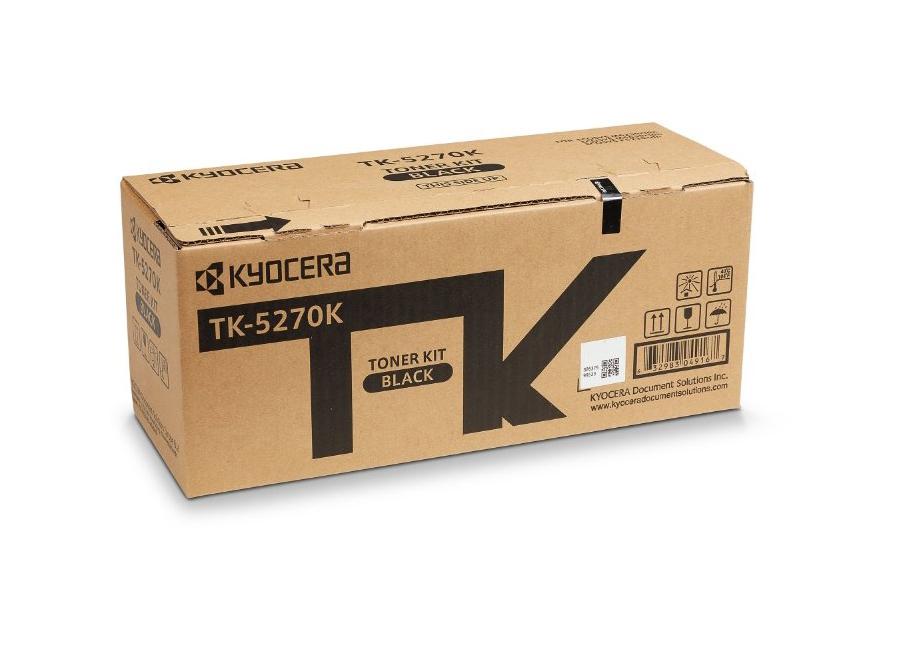 Фото - Тонер-картридж Kyocera TK-5270K для P6230cdn/M6230cidn/M6630cidn тонер картридж kyocera tk 50h