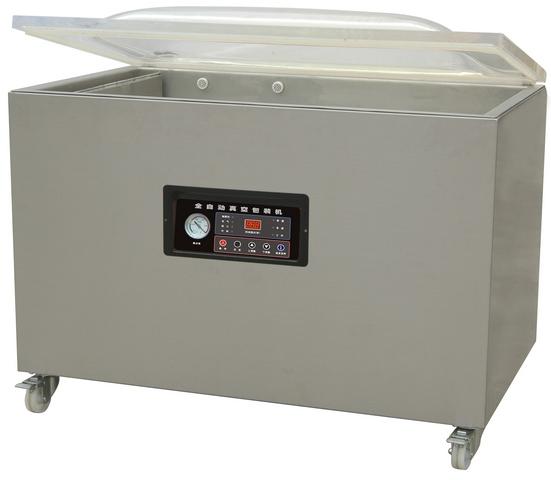 Напольная однокамерная вакуум-упаковочная машина HL DZQ-1100/2L (нерж., газ) фото
