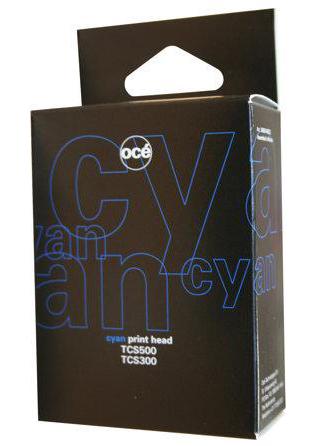 Печатающая головка для TCS500, 35ml, Cyan (7517B002) цены онлайн
