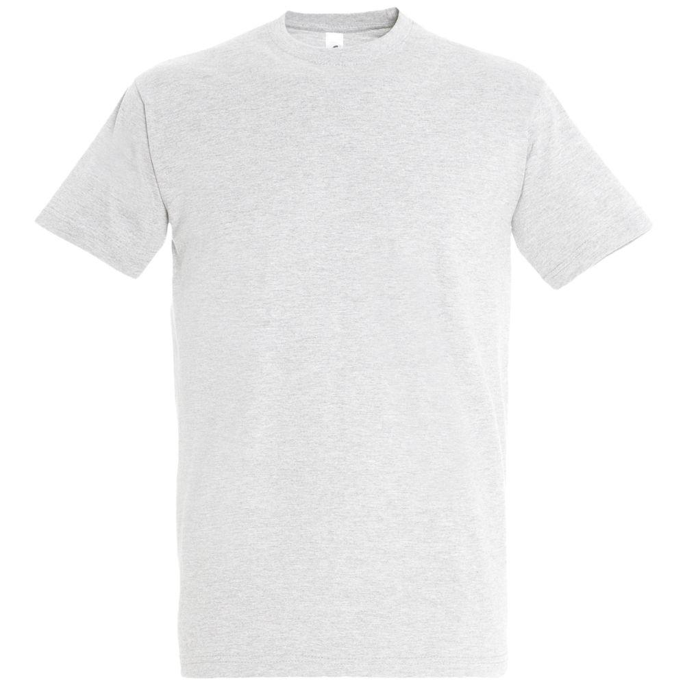 Футболка IMPERIAL 190 светло-серый меланж, размер 5XL