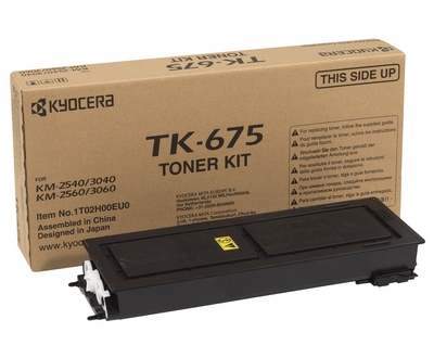 Фото - Тонер-картридж Kyocera TK-675 тонер картридж kyocera tk 675