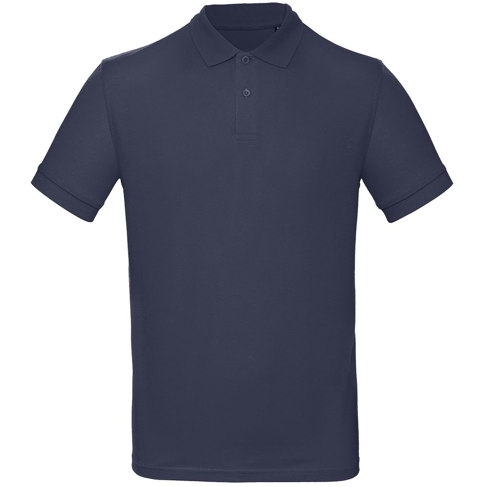 Рубашка поло мужская Inspire темно-синяя, размер L рубашка поло мужская inspire темно синяя размер s