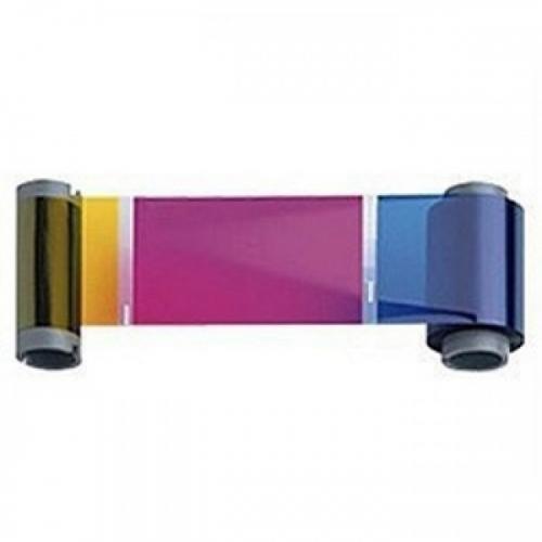 Фото - Полноцветная красящая лента Zebra YMCUvK 800077-770EM монохромная синяя лента zebra 800077 714em