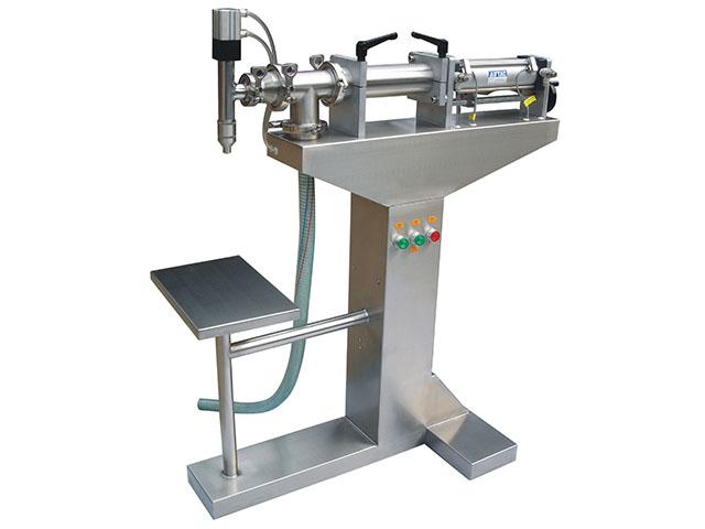Настольный поршневой дозатор для пастообразных продуктов HL PPF-250