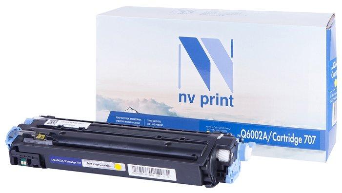 Фото - Картридж NV Print Q6002A/707PR картридж nv print q6002a 707pr