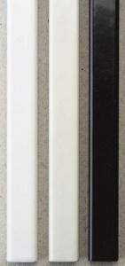 Фото - Металлические каналы O.Simple Channel А4 297 мм 10 мм, белые металлические каналы o simple channel а4 297 мм 13 мм серые