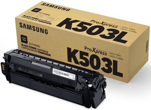 Фото - Тонер-картридж Samsung CLT-K503L рюкзак детский пушистый кролик цвет темно фиолетовый