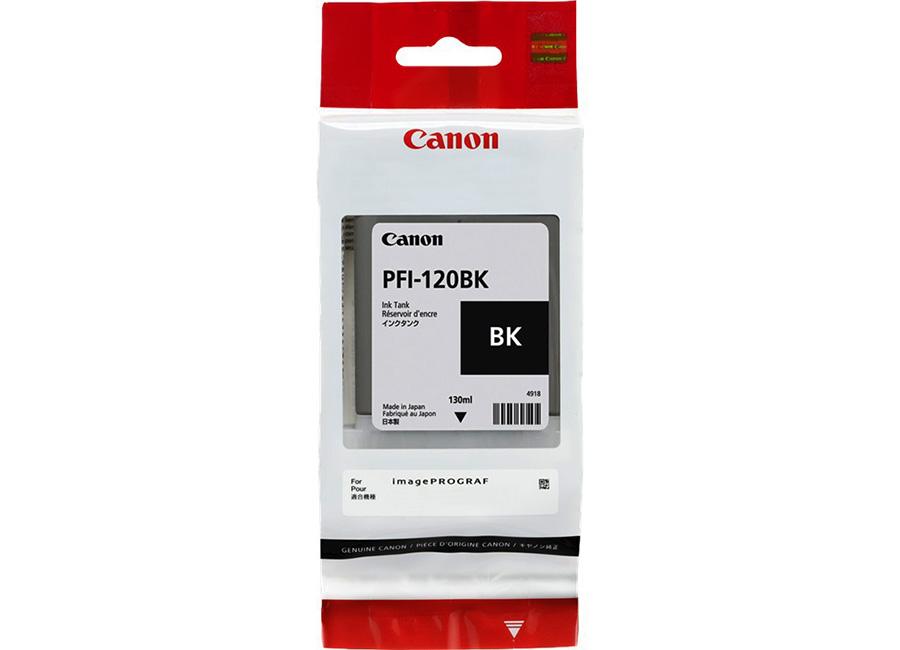 Фото - Canon PFI-120 Black 130 мл (2885C001) картридж струйный canon pfi 120 mbk 2884c001 черный матовый 130мл для canon imageprograf tm 200 205