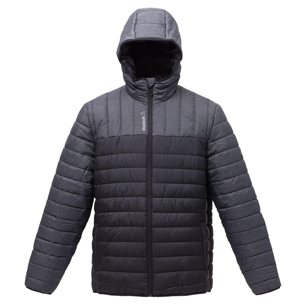 Куртка мужская Outdoor, серая с черным, размер S фото