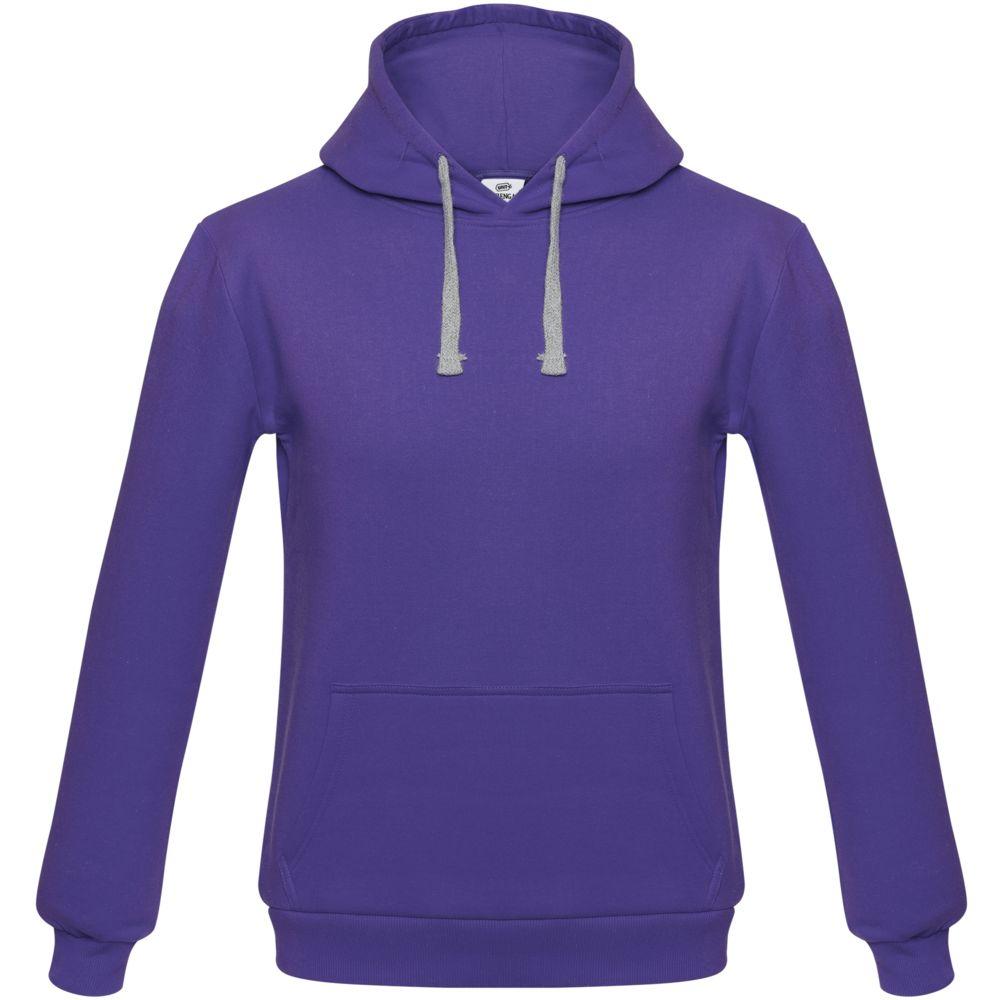 Толстовка с капюшоном Unit Kirenga фиолетовая, размер XL толстовка с капюшоном unit kirenga фиолетовая размер 4xl