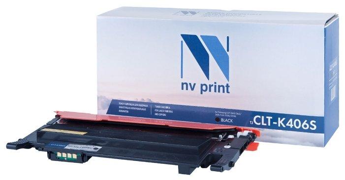 Картридж NV Print CLT-K406S картридж nv print clt k504s