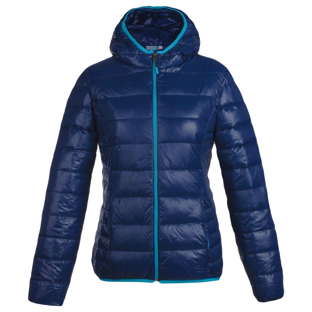 Куртка пуховая женская Tarner Lady темно-синяя, размер XXL lady xxl