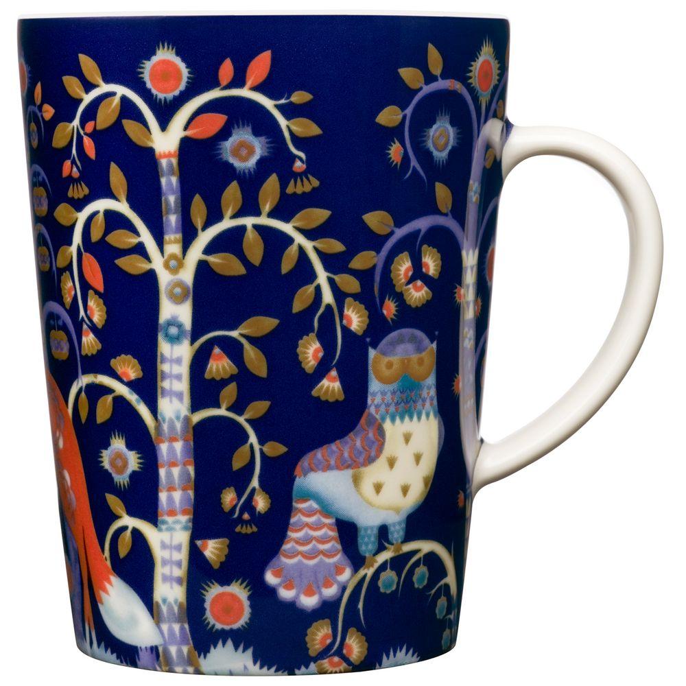 Фото - Чашка чайная Taika, синяя чашка чайная taika белая