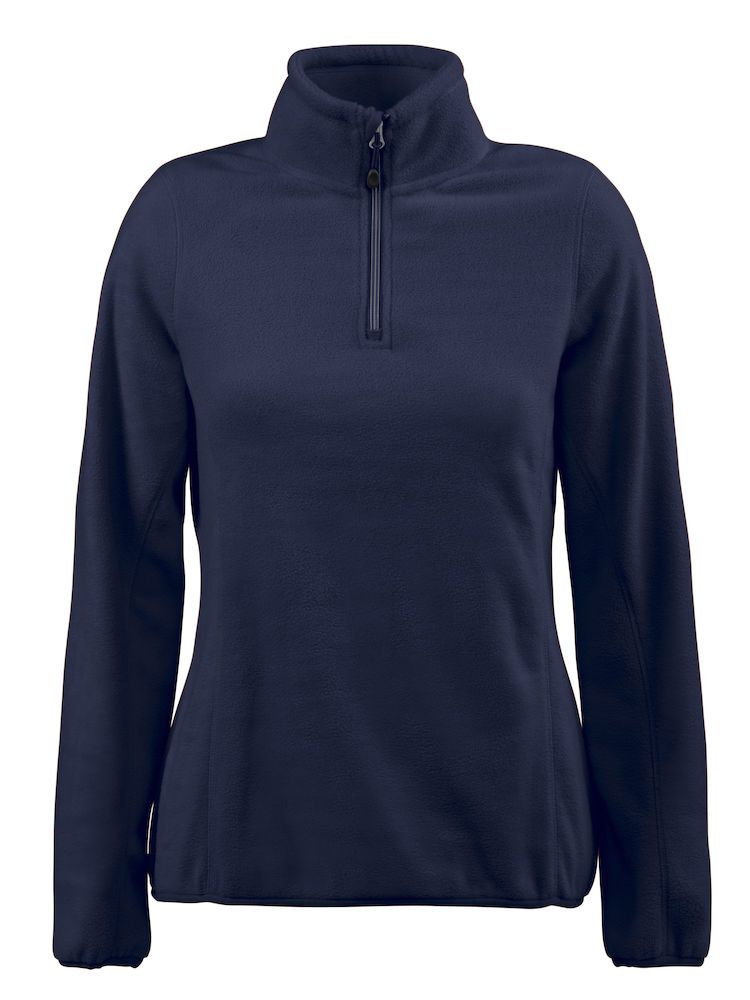Толстовка флисовая женская Frontflip темно-синяя, размер S толстовка флисовая женская frontflip красная размер s