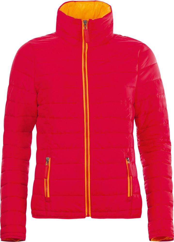 Пуховик легкий женский RIDE WOMEN красный, размер XL