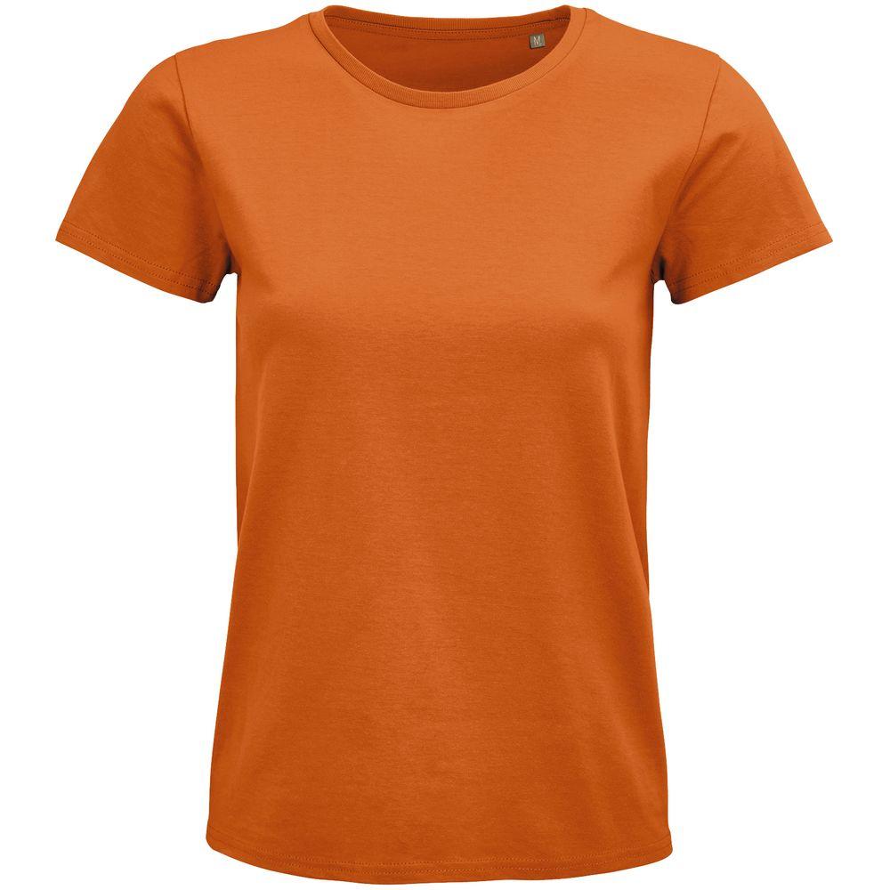 Футболка женская Pioneer Women, оранжевая, размер L футболка женская pioneer women оранжевая размер s