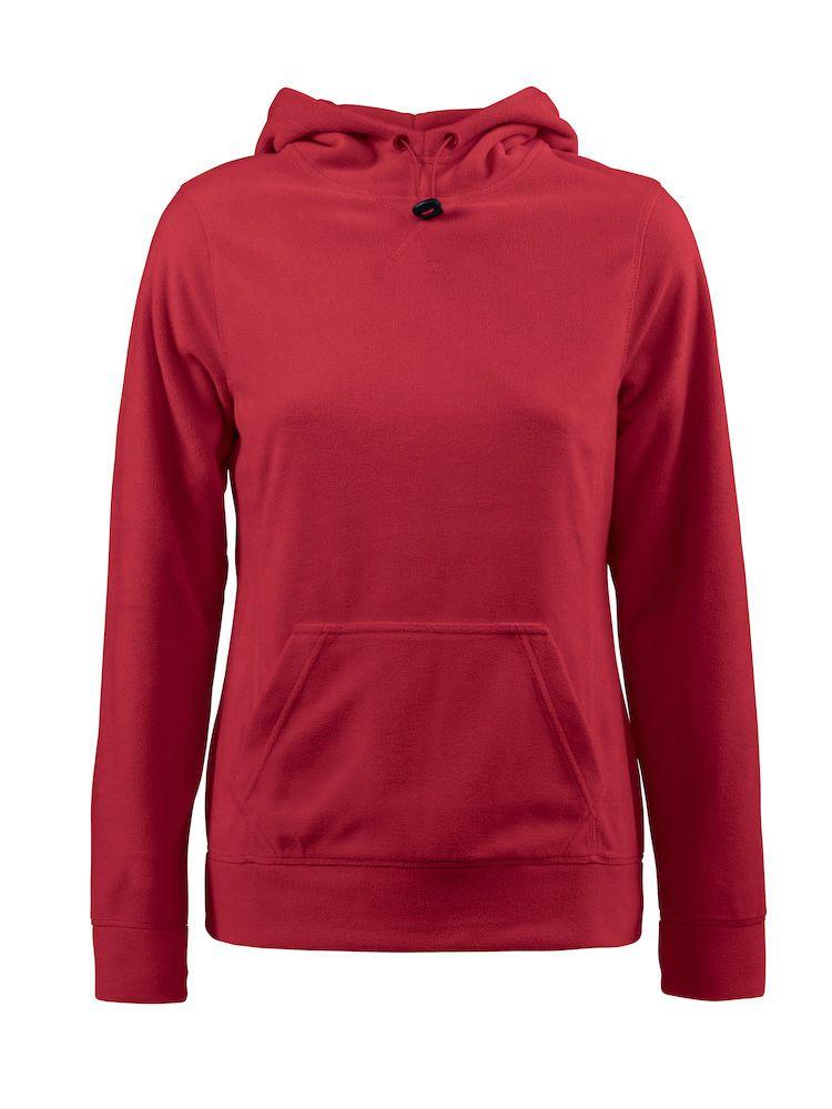 Толстовка флисовая женская Switch красная, размер XL