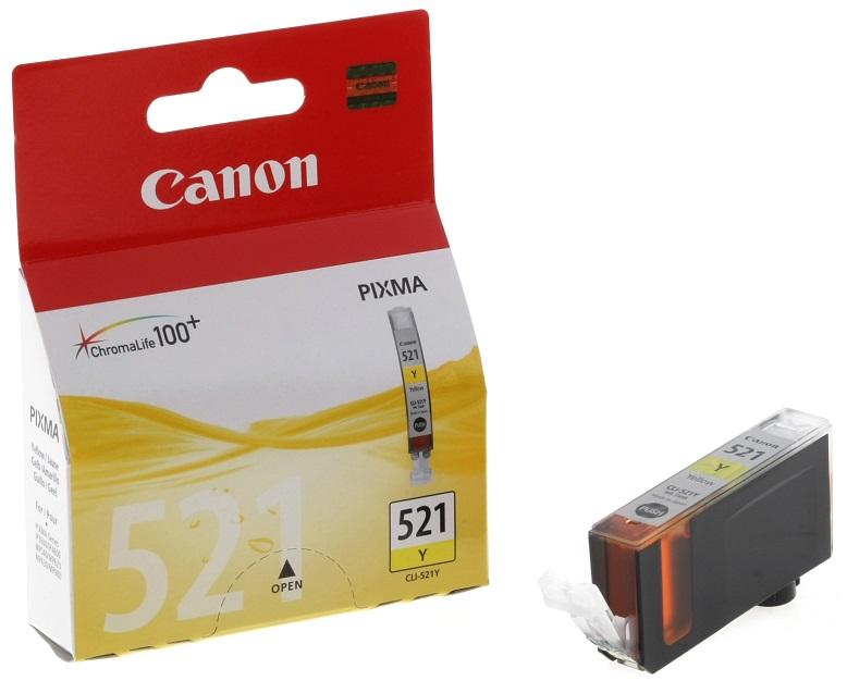 Фото - Картридж Canon CLI-521Y картридж canon cli 42y 6387b001 для canon pro 100 желтый