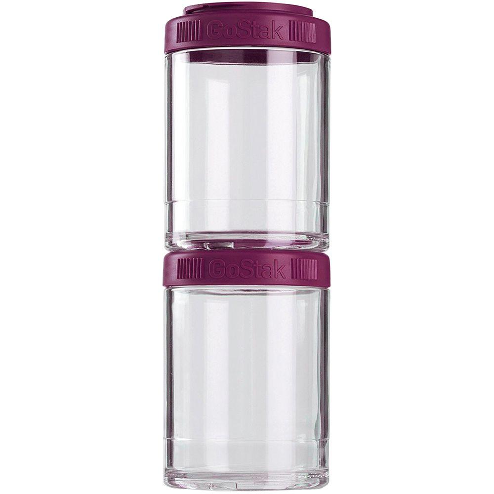 Набор контейнеров GoStak, фиолетовый (сливовый) набор контейнеров bergner bg 5723